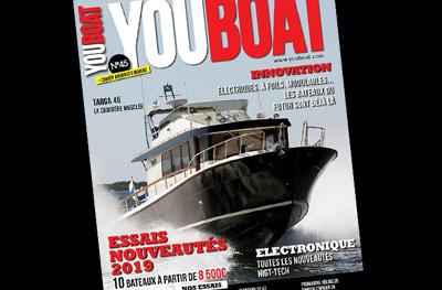 Le Targa 46 en couverture de YouBoat
