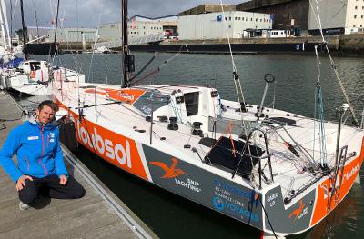 SNIP Yachting est partenaire de Fabien DELAHAYE - Figaro 3