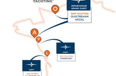 Réseau Bavaria Yachts - Grand Ouest